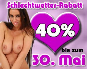 Bis zum 30. Mai gibt 40% Rabatt in unserem Webcam Chat